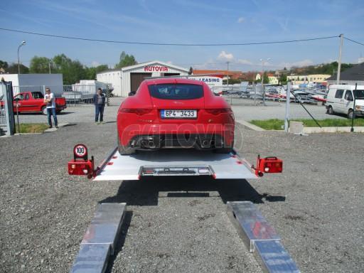 Přepravník sportovních automobilů s celohliníkovou ložnou plochou IM 2,7T 5,01x2,09 č.28