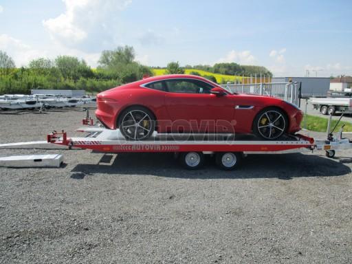 Přepravník sportovních automobilů s celohliníkovou ložnou plochou IM 2,7T 5,01x2,09 č.30