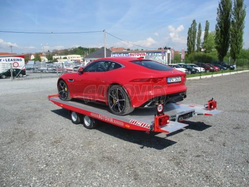 Přepravník sportovních automobilů s celohliníkovou ložnou plochou IM 2,7T 5,01x2,09 č.33