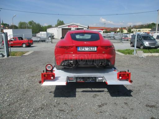 Přepravník sportovních automobilů s celohliníkovou ložnou plochou IM 2,7T 5,01x2,09 č.34