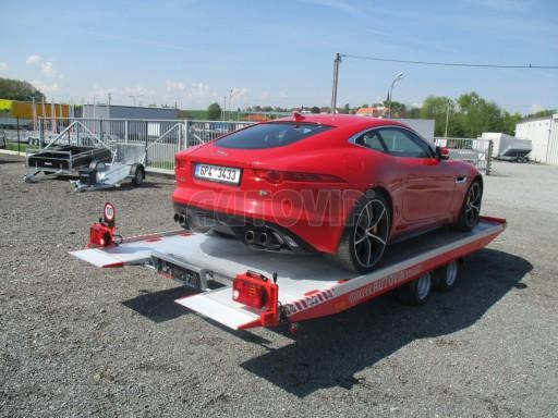 Přepravník sportovních automobilů s celohliníkovou ložnou plochou IM 2,7T 5,01x2,09 č.35