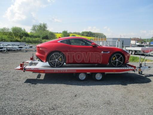 Přepravník sportovních automobilů s celohliníkovou ložnou plochou IM 2,7T 5,01x2,09 č.36