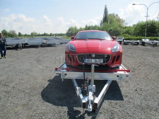 Přepravník sportovních automobilů s celohliníkovou ložnou plochou IM 2,7T 5,01x2,09 č.39