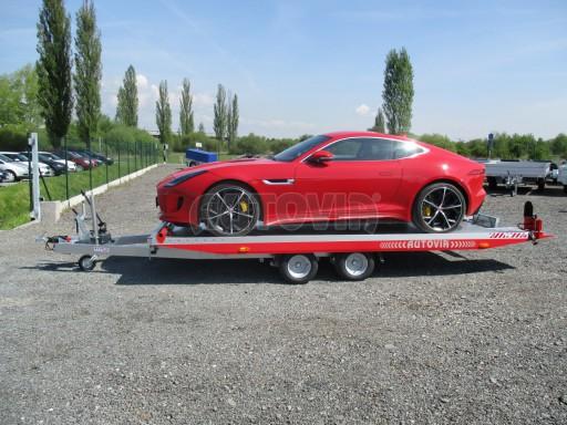 Přepravník sportovních automobilů s celohliníkovou ložnou plochou IM 2,7T 5,01x2,09 č.40