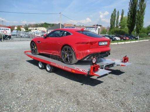 Přepravník sportovních automobilů s celohliníkovou ložnou plochou IM 2,7T 5,01x2,09 č.41