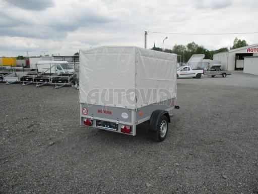 Přívěsný vozík za osobní auto ZV 7 EX Š500 2,06x1,25/1,33 č.7