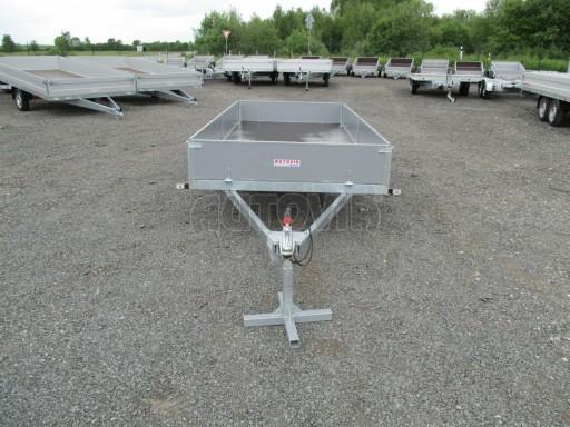 Robustní předimenzovaný přívěsný vozík PV 750kg N1 3,53x1,53/0,30 zesílená náprava č.2