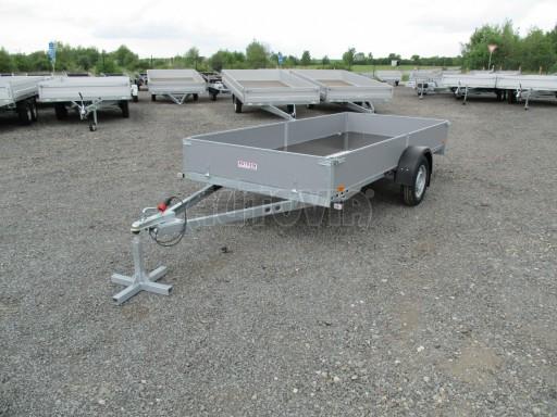 Robustní předimenzovaný přívěsný vozík PV 750kg N1 3,53x1,53/0,30 zesílená náprava č.1