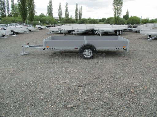 Robustní předimenzovaný přívěsný vozík PV 750kg N1 3,53x1,53/0,30 zesílená náprava č.3