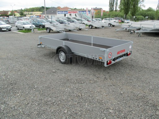 Robustní předimenzovaný přívěsný vozík PV 750kg N1 3,53x1,53/0,30 zesílená náprava č.4