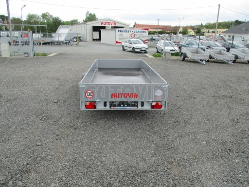Robustní předimenzovaný přívěsný vozík PV 750kg N1 3,53x1,53/0,30 zesílená náprava č.5