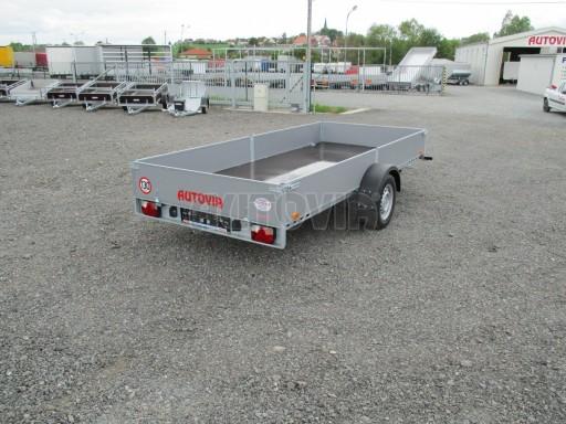 Robustní předimenzovaný přívěsný vozík PV 750kg N1 3,53x1,53/0,30 zesílená náprava č.6