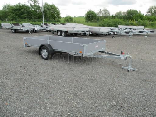 Robustní předimenzovaný přívěsný vozík PV 750kg N1 3,53x1,53/0,30 zesílená náprava č.8