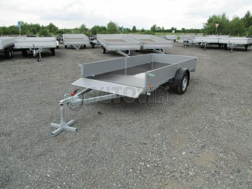 Robustní předimenzovaný přívěsný vozík PV 750kg N1 3,53x1,53/0,30 zesílená náprava č.9