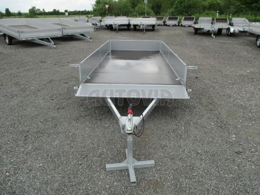 Robustní předimenzovaný přívěsný vozík PV 750kg N1 3,53x1,53/0,30 zesílená náprava č.10