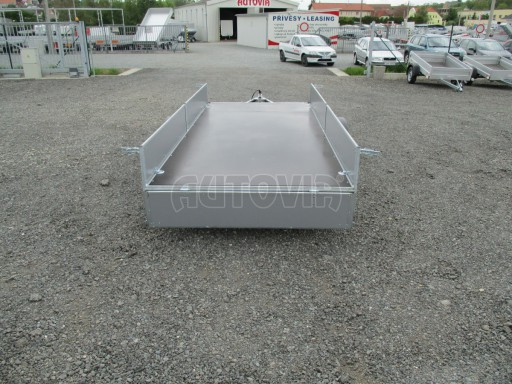 Robustní předimenzovaný přívěsný vozík PV 750kg N1 3,53x1,53/0,30 zesílená náprava č.11