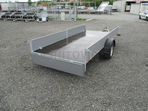 Robustní předimenzovaný přívěsný vozík PV 750kg N1 3,53x1,53/0,30 zesílená náprava č.12