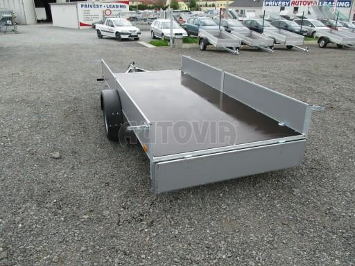 Robustní předimenzovaný přívěsný vozík PV 750kg N1 3,53x1,53/0,30 zesílená náprava č.13
