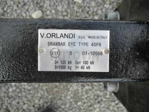 Jednonápravový vzduchem brzděný přívěs AVG B1 10T XL 7,76x2,48/3,06 č.10