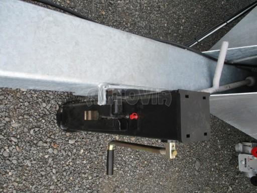 Jednonápravový vzduchem brzděný přívěs AVG B1 10T XL 7,76x2,48/3,06 č.12