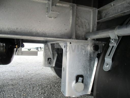 Jednonápravový vzduchem brzděný přívěs AVG B1 10T XL 7,76x2,48/3,06 č.25