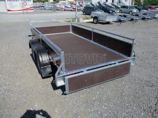 Nebrzděný dvouosý přívěs VA 750kg 3,01x1,50/0,30 RE POČ č.13