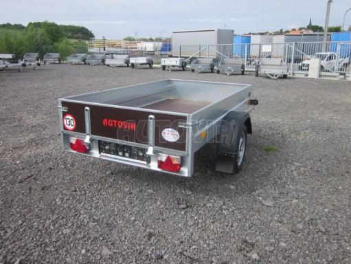 Sklopný přívěsný vozík za osobní auto HD 28 skl 2,27x1,25/0,30 č.14