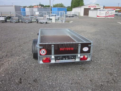 Sklopný přívěsný vozík za osobní auto HD 28 skl 2,27x1,25/0,30 č.18