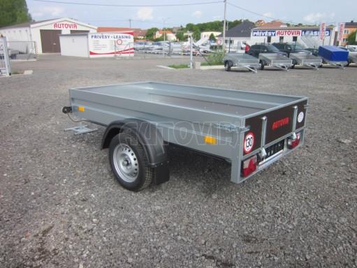 Sklopný přívěsný vozík za osobní auto HD 28 skl 2,27x1,25/0,30 č.19