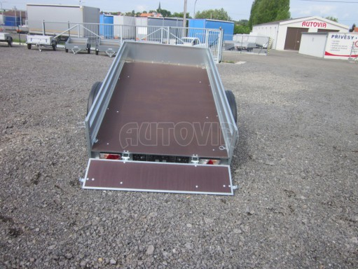 Sklopný přívěsný vozík za osobní auto HD 28 skl 2,27x1,25/0,30 č.21