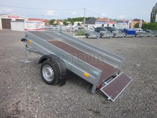 Sklopný přívěsný vozík za osobní auto HD 28 skl 2,27x1,25/0,30 č.22