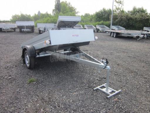 Sklopný přívěsný vozík za osobní auto HD 28 skl 2,27x1,25/0,30 č.24
