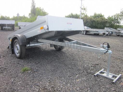 Sklopný přívěsný vozík za osobní auto HD 28 skl 2,27x1,25/0,30 č.12