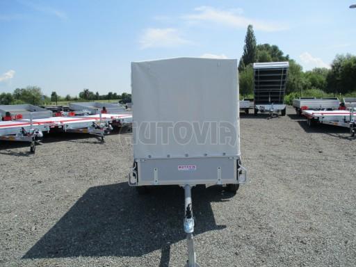 Nebrzděný přívěsný vozík s plachtou ZV 21 N1 2,06x1,09/1,33** č.2