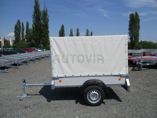 Nebrzděný přívěsný vozík s plachtou ZV 21 N1 2,06x1,09/1,33** č.3