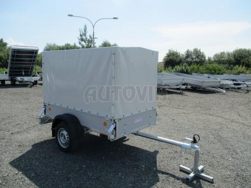 Nebrzděný přívěsný vozík s plachtou ZV 21 N1 2,06x1,09/1,33** č.8