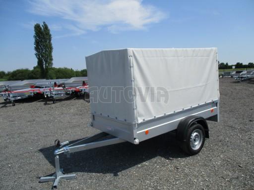 Nebrzděný přívěsný vozík s plachtou ZV 21 N1 2,06x1,09/1,33** č.10