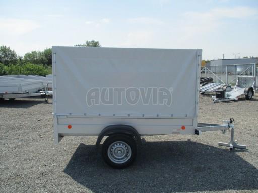 Nebrzděný přívěsný vozík s plachtou ZV 21 N1 2,06x1,09/1,33** č.15