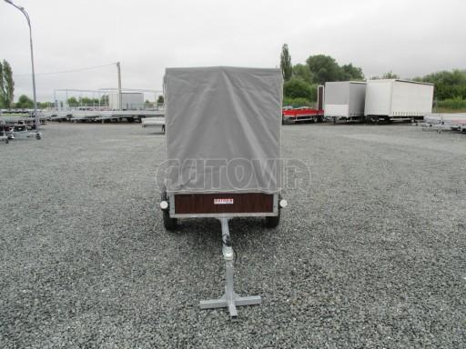 Nebrzděný přívěsný vozík s plachtou VAD 21 N1 2,06x1,12/1,50 č.2