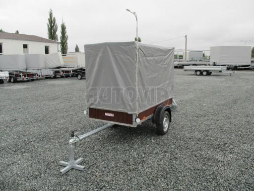 Nebrzděný přívěsný vozík s plachtou VAD 21 N1 2,06x1,12/1,50 č.1