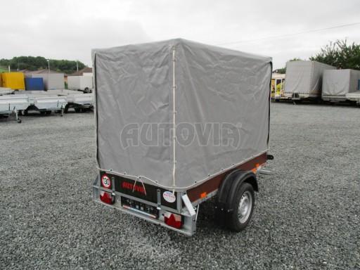 Nebrzděný přívěsný vozík s plachtou VAD 21 N1 2,06x1,12/1,50 č.6