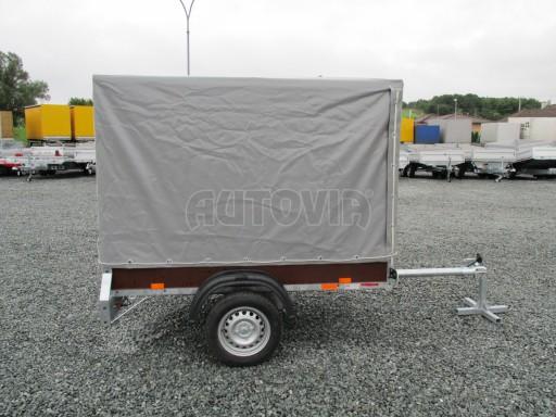 Nebrzděný přívěsný vozík s plachtou VAD 21 N1 2,06x1,12/1,50 č.7