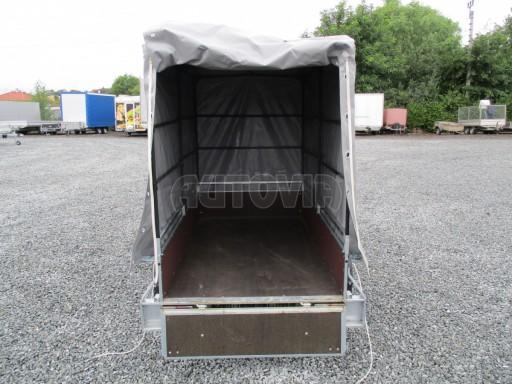 Nebrzděný přívěsný vozík s plachtou VAD 21 N1 2,06x1,12/1,50 č.8