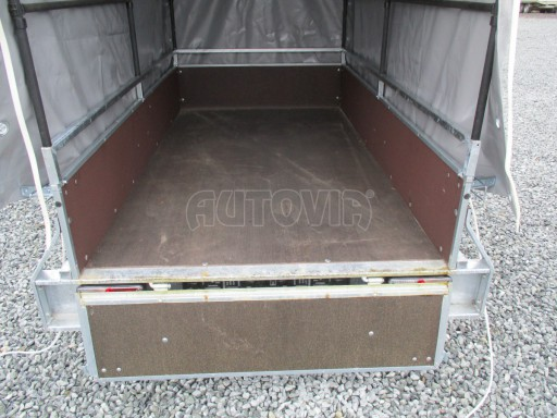 Nebrzděný přívěsný vozík s plachtou VAD 21 N1 2,06x1,12/1,50 č.9