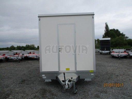 Přívěsný vozík (prodejní stánek) EW 2,5T 4,10x2,20/2,30 č.6