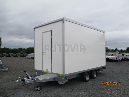 Přívěsný vozík (prodejní stánek) EW 2,5T 4,10x2,20/2,30 č.7