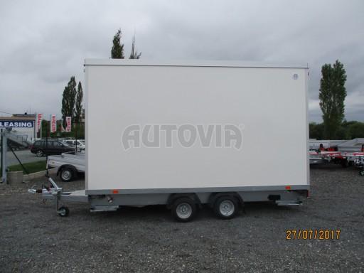 Přívěsný vozík (prodejní stánek) EW 2,5T 4,10x2,20/2,30 č.8