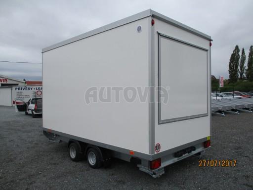 Přívěsný vozík (prodejní stánek) EW 2,5T 4,10x2,20/2,30 č.9