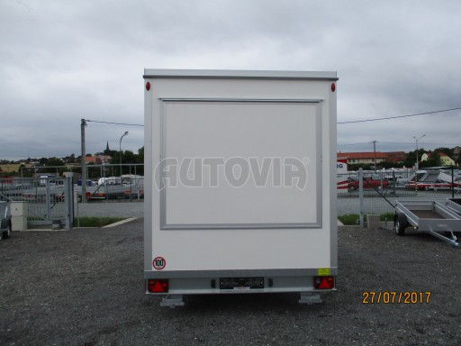 Přívěsný vozík (prodejní stánek) EW 2,5T 4,10x2,20/2,30 č.10