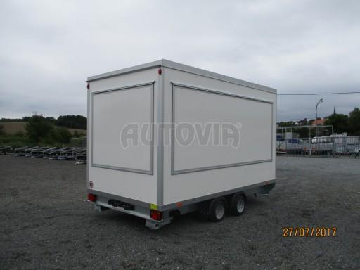 Přívěsný vozík (prodejní stánek) EW 2,5T 4,10x2,20/2,30 č.11